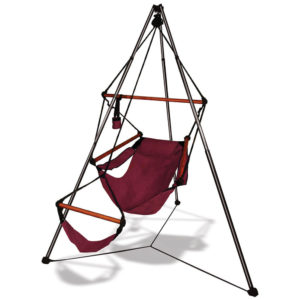 Hanging Chair Combo choose from 3 different colour chairs Hammaka tripod stand